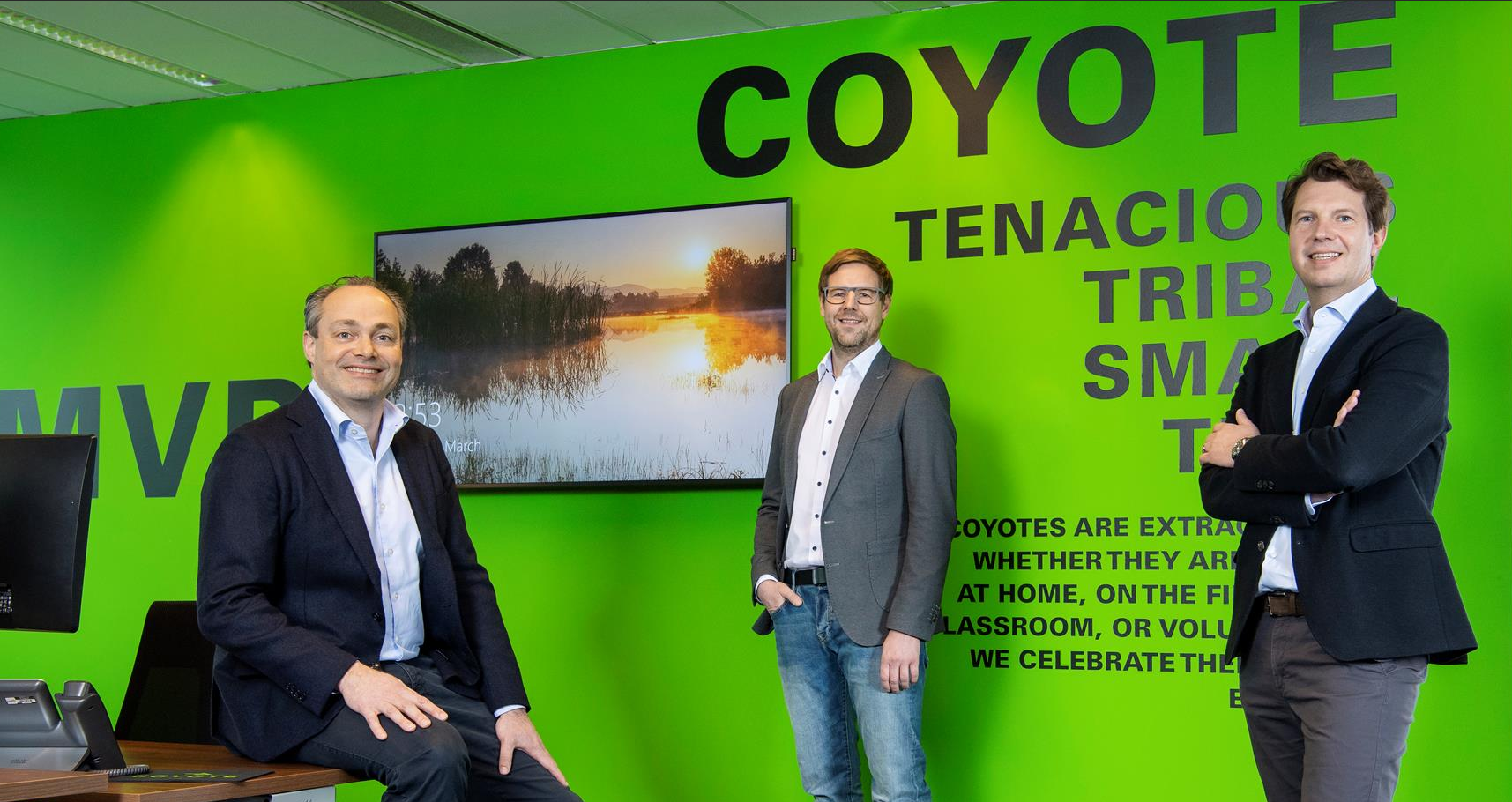 Coyote opens Office in Frankfurt, Germany